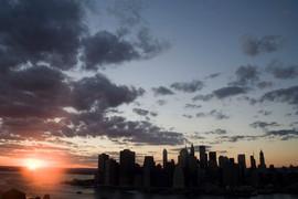 NYC skyline 2008