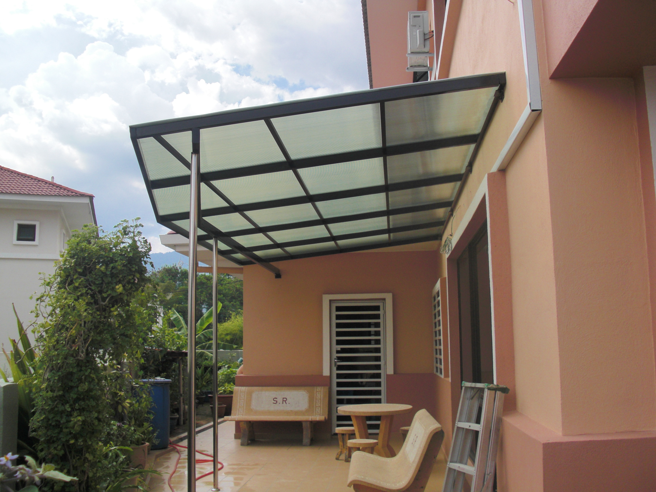 Perak Lexan Thermoclear SC IR Twin Walls as Skylights