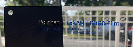 LEXAN™ 6060 Film. Advanced Polycarbonate/PMMA for Printing