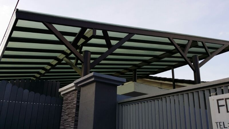 Ipoh Polycarbonate Roof with Lexan