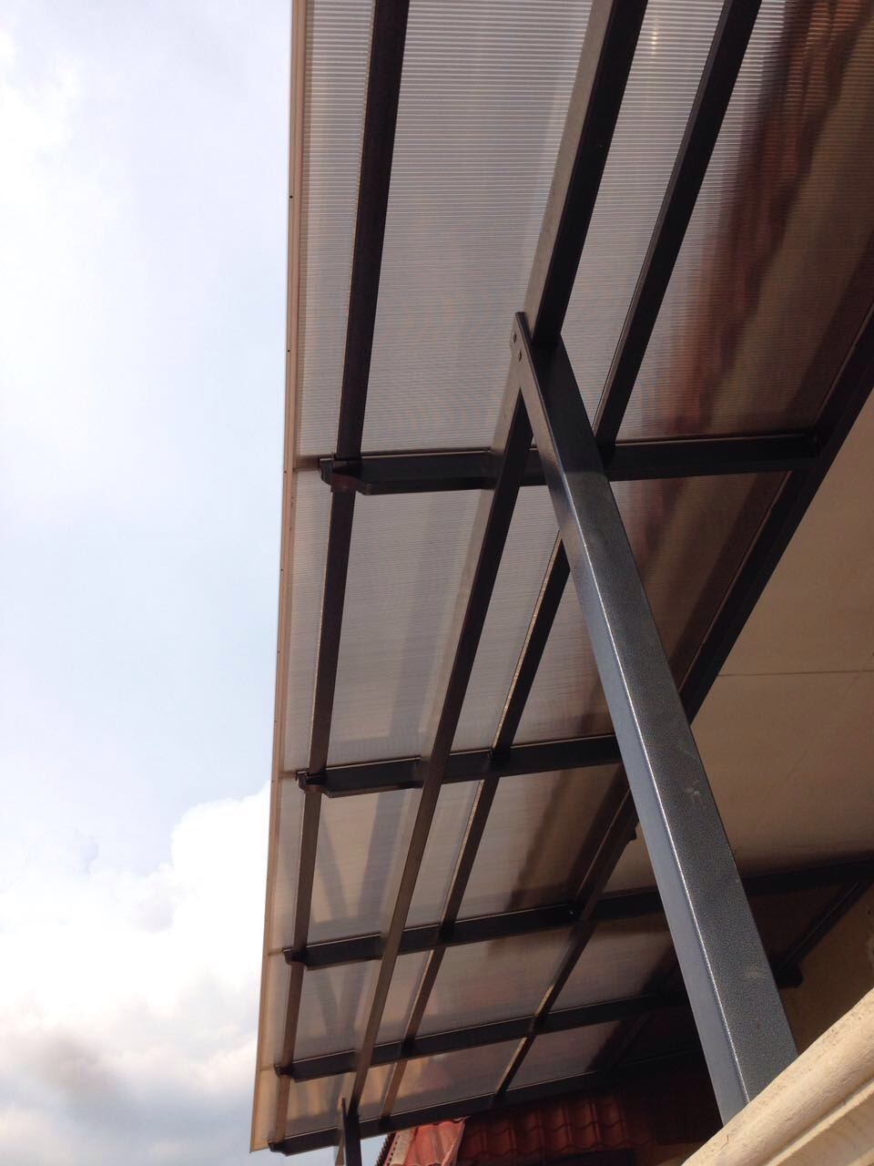 Lexan Polycarbonate Bronze 5 Walls