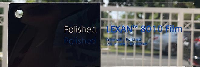 LEXAN™ 8010SHC Film. Advanced Film for Printing Industries