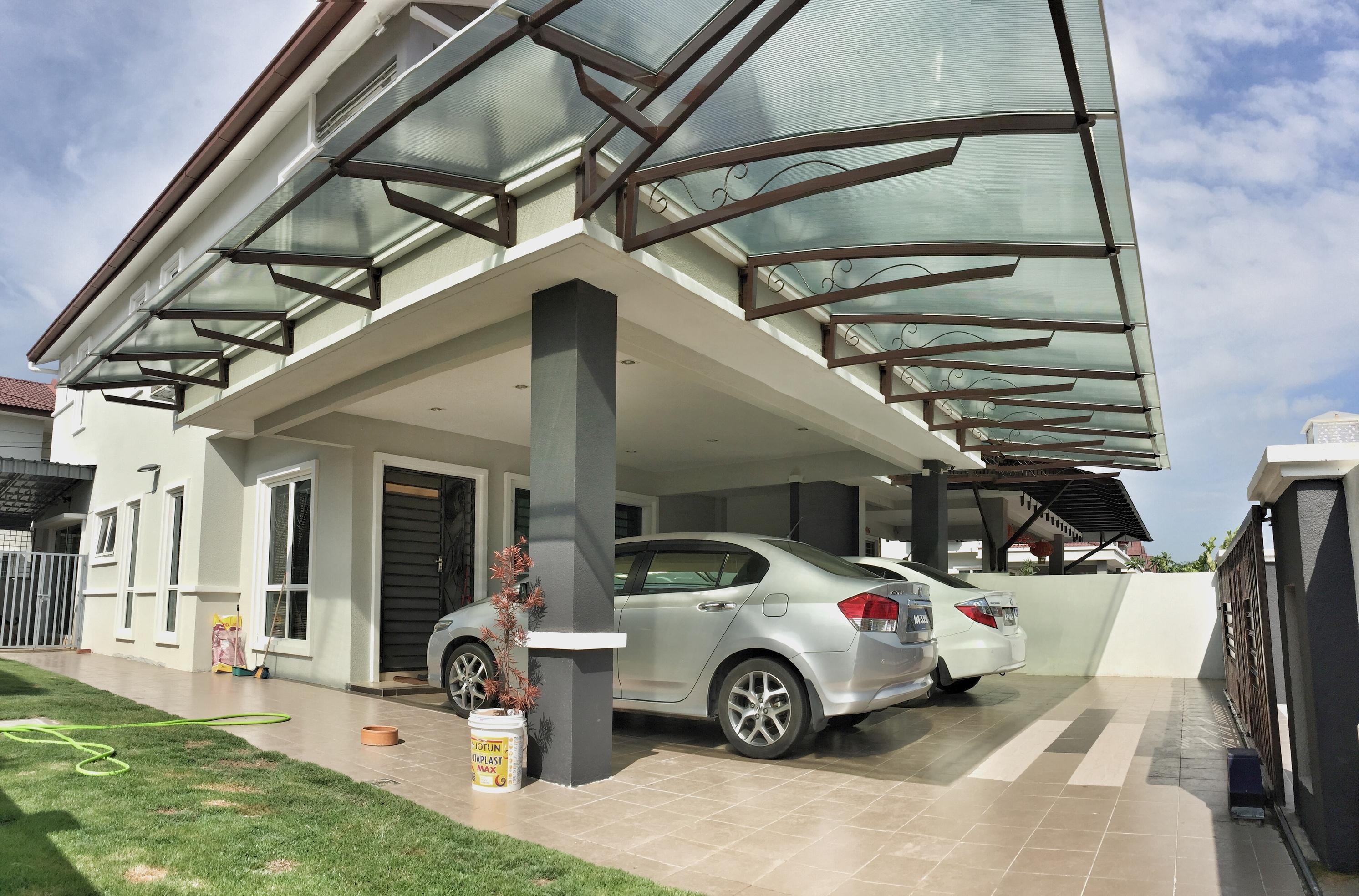 Lexan Thermoclear SC IR Polycarbonate Awning at Ipoh Perak