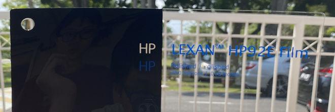 LEXAN™ HP92E Flexible Coated Performance Polycarbonate Film