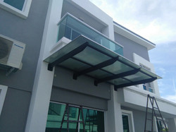 Lexan 5 Walls Polycarbonate Roof