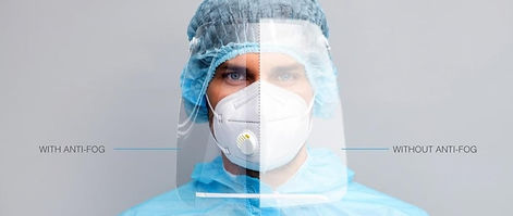 LEXAN™ HP92AF Optical Clear Anti-Fog Polycarbonate Film
