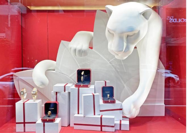 Cartier Vitrines Christmas 2020