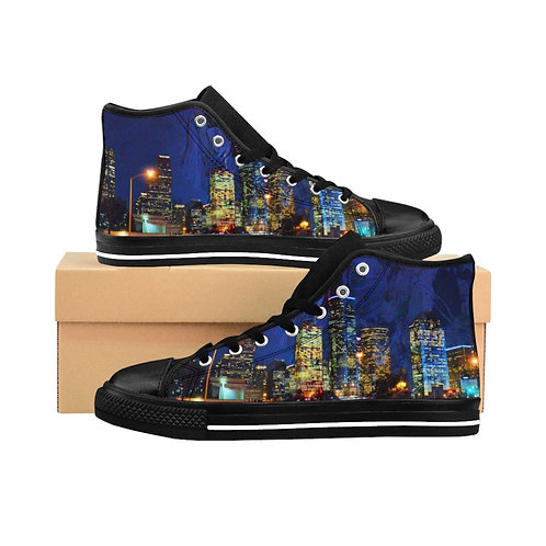 Wearable Collectible Art Men's High-top Sneakers