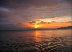 tramonto - il Pilio  a Giugno.JPG
