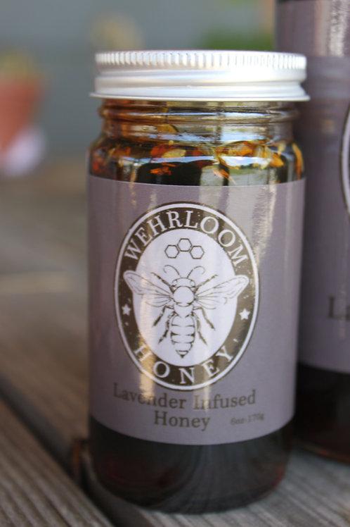 Lavender Infused Honey
