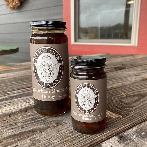 Appalachian Mountain Honey - screw top lid