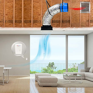 quietcool whole house attic fan cooling air inside home