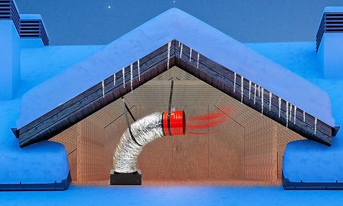 quiet-cool-whole-house-fan-in-winter-attic