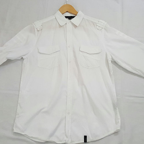 Straight Faded Men's Casual Shirt