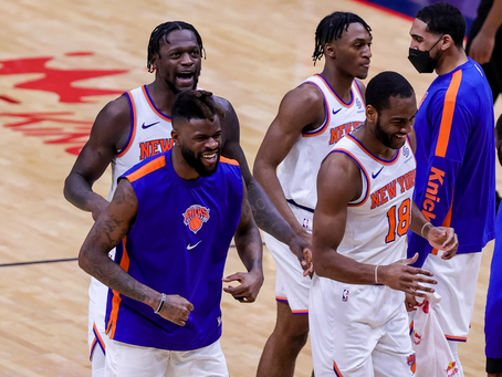The Knicks Finally Have Something to Celebrate