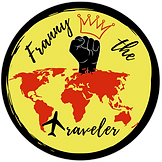 Franny the Traveler Logo. NEW transparen
