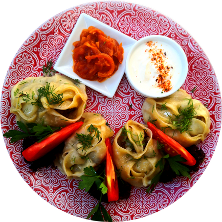 Manti and khinkali - what is common and what is different!
