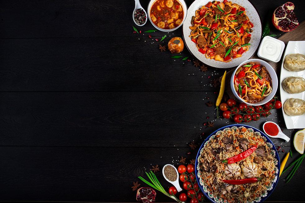 лагман та інши страви узбецької кухні