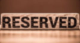 Table reserved. Зарезервувати стіл