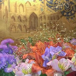 Декорація стени у Чайхана Самарканд. Зарезервувати  стіл
