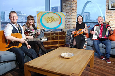 Folky MacFolk Face STV Live at Five