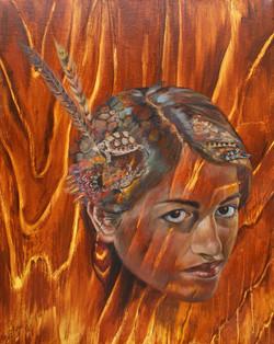 Desert Dreams in Burnt Sienna
