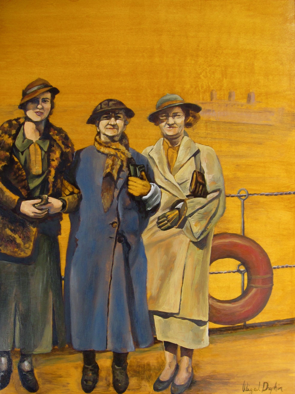 The Three Travelers, 1935