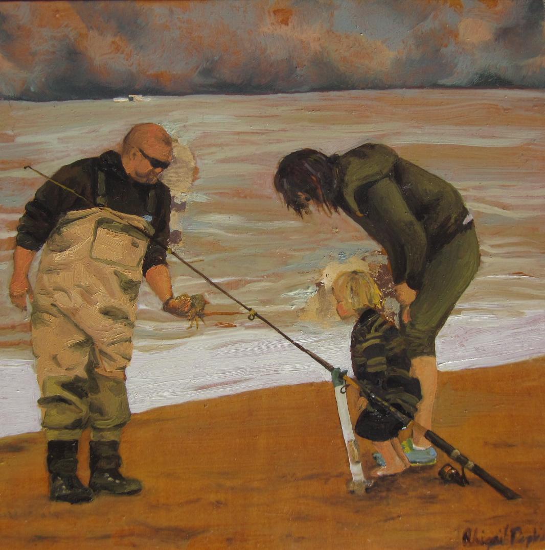 Crabbing at Baker Beach II