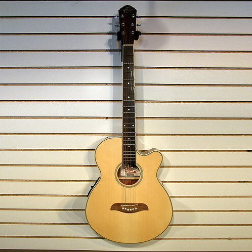Oscar Schmidt OE8 acoustic electric guitar