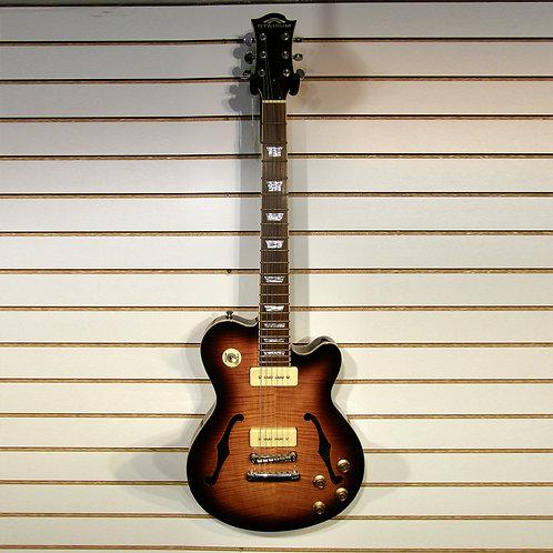 Stadium Guitar Custom Flame maple electric with fl