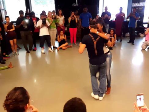 Isabelle & Félicien @ BATUKE! Festival 2016 Kizomba Demo