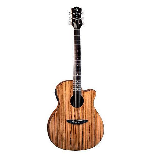 Luna Gypsy Zebrawood Acoustic Electric