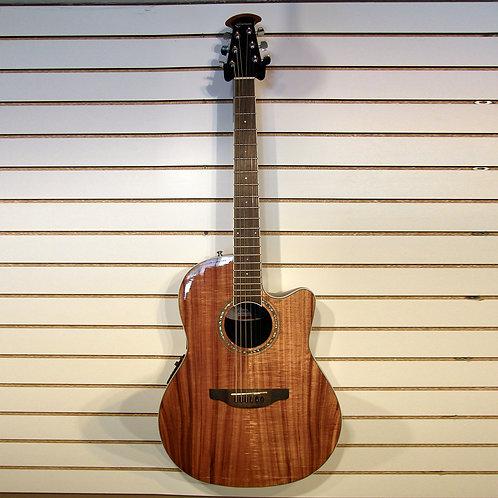 Ovation Koa top Acoustic Electric Guitar