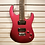 Thumbnail: Sammick Greg Bennett Electric Guitar Red USED