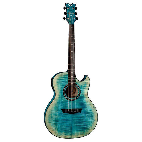 DeanBlue Flame Maple with Aphex Acoustic Electric