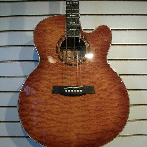 HAGSTROM  J25CEQ A / E JUMBO guitar with EQ