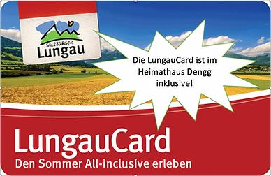 LungauCard inklusive im Ferienhaus Lungau
