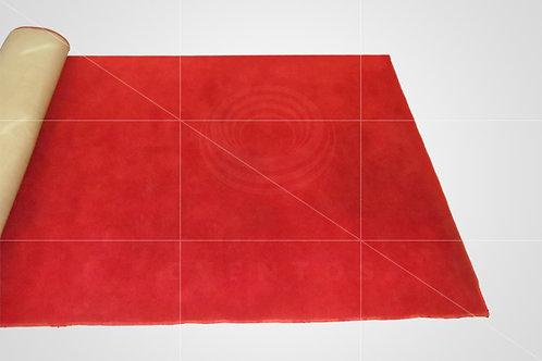 Tapete Passarela Corporativo Vermelho 3,95 x 1,45 (Ref: 14)