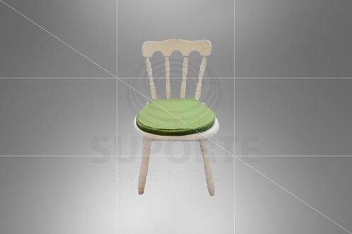 Cadeira Kids Castelo Assento Verde