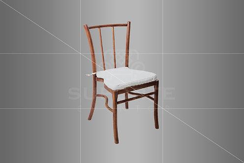 Cadeira Charme Imbuia em Madeira