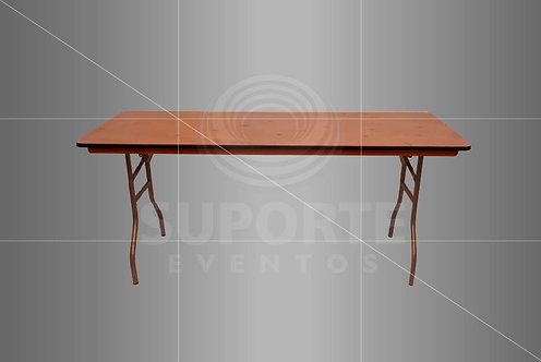 Mesa Convidado x Buffet para Uso de Toalha 1,83 x 0,76 x 0,77 alt.