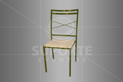 Cadeira Boho Verde Oliva
