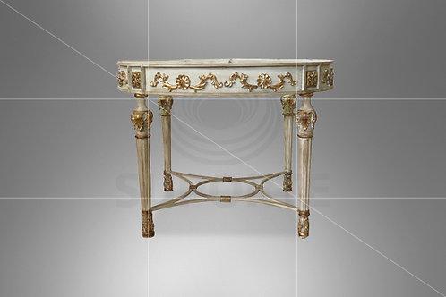 Mesa Dourada Prado com Tampo Espelhado (Diâmetros: 1,10 e 1,20)