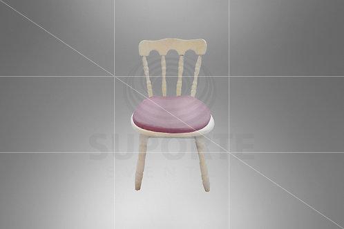 Cadeira Kids Castelo Assento Lilás