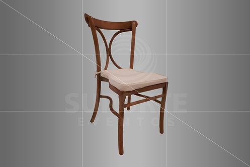 Cadeira Florença em Madeira