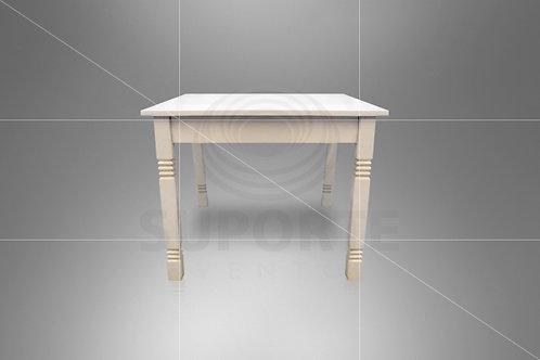 Mesa Branca Diamante 1,00 x 1,00