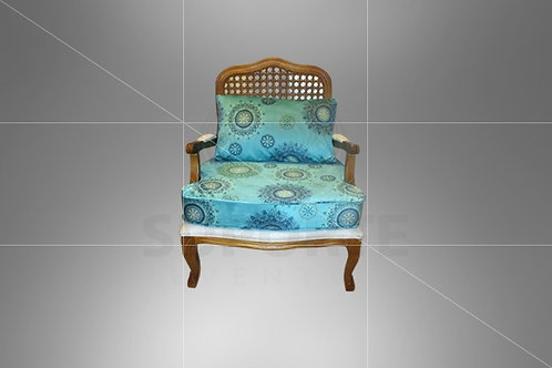 Poltrona Vime Charllot Tiffany Mandala 0,78 x 0,70