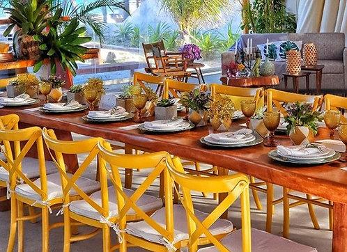 Cadeira Paris Amarela