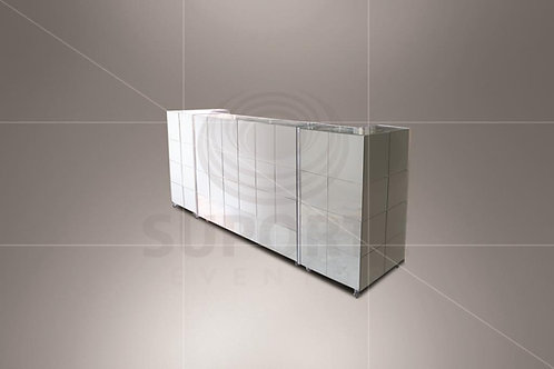 Balcão Espelhado 4,20 x 0,60