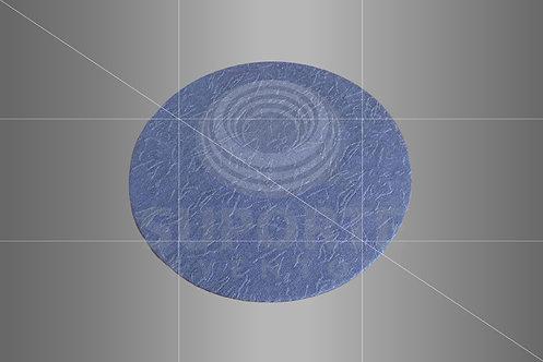 Sousplat Parise Azul Liso 0,32 de diâmetro